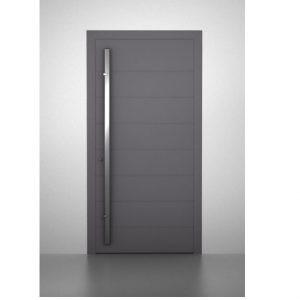 Εξωτερική θωρακισμένη πόρτα αλουμινίου Interno Smart L225