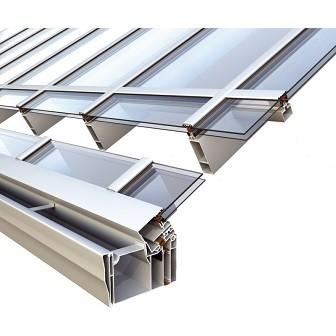Σύστημα Alumil M10800 για αίθριο