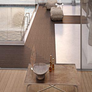 Δάπεδο τύπου Deck Alumil Woodee