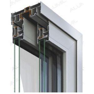 Alumil S560 σειρά θέρμο
