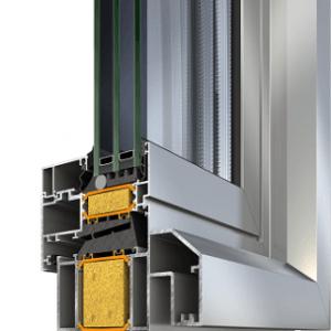 Ανοιγόμενο σύστημα Alumil Supreme S95