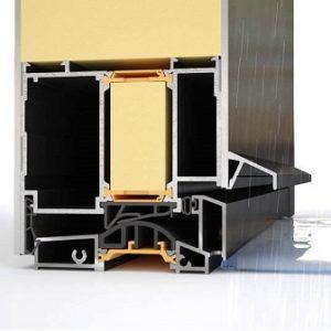 Ανοιγόμενο σύστημα Alumil Supreme SD95