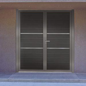 Αυλόπορτα αλουμινίου Style Doors Modern M490