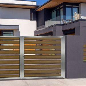 Αυλόπορτα αλουμινίου Style Doors Modern M491