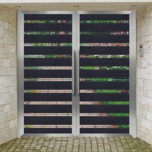 Αυλόπορτα αλουμινίου Style Doors Modern M492