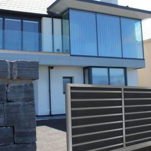 Αυλόπορτα αλουμινίου Style Doors Modern M493