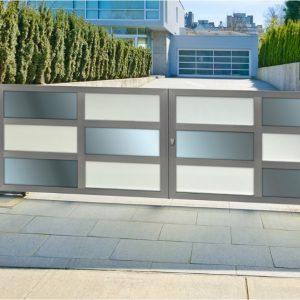 Αυλόπορτα αλουμινίου Style Doors Modern M700