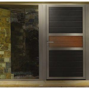 Αυλόπορτα αλουμινίου Style Doors Modern M7480