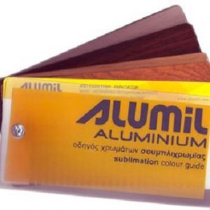 Βαφή ξύλου σε αλουμίνιο