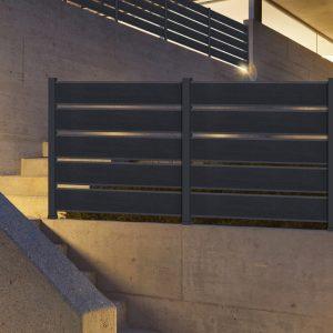 Περίφραξη αλουμινίου Style Doors Classic C6491
