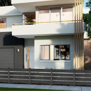 Περίφραξη αλουμινίου Style Doors Elegance E6482