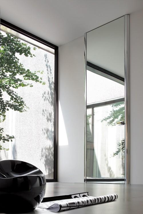 Γυάλινη εσωτερική πόρτα Golden Door Dinamika Mirror