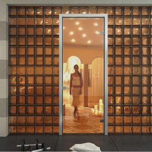 Γυάλινη εσωτερική πόρτα Interno Vetro