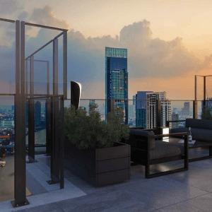 Σύστημα γυάλινου ανεμοφράκτη Aluminco Open Air Plus