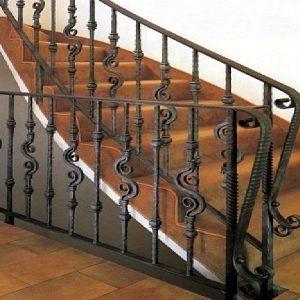 Παραδοσιακή σκάλα σιδήρου Emmetal σχέδιο 4