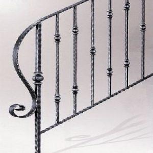 Παραδοσιακή σκάλα σιδήρου Emmetal σχέδιο 6