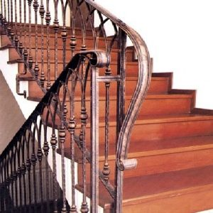Παραδοσιακή σκάλα σιδήρου Emmetal σχέδιο 9