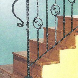 Παραδοσιακή σκάλα σιδήρου Αλμε 25306