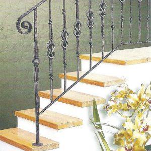 Παραδοσιακή σκάλα σιδήρου Αλμε 25606