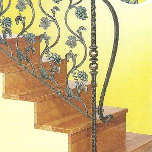 Παραδοσιακή σκάλα σιδήρου Αλμε 27309