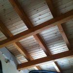 Πάνελ κεραμίδι με ξύλο
