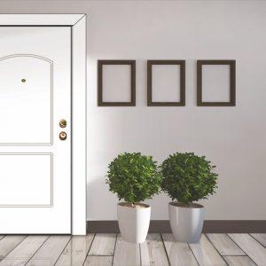 Πόρτα θωρακισμένη με φιλμ PVC Style Doors Classic σε ποικιλία σχεδίων-χρωμάτων