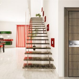 Πόρτα θωρακισμένη με φιλμ PVC Style Doors Specific σε ποικιλία σχεδίων-χρωμάτων