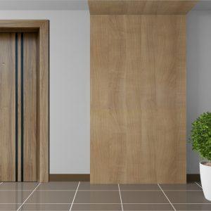 Πόρτα θωρακισμένη με φιλμ PVC Style Doors Superior σε ποικιλία σχεδίων-χρωμάτων