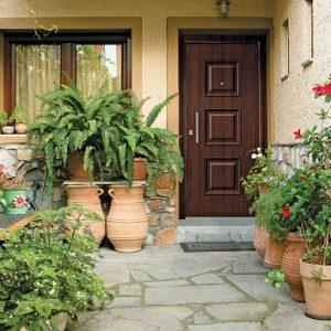 Πόρτα ασφαλείας Golden Door σχέδιο 190