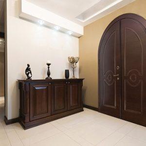 Πόρτα ασφαλείας Golden Door με σχέδιο διπλό παντογραφικό C1
