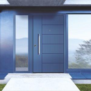 Εξωτερική πόρτα αλουμινίου Style Doors σε ποικιλία χρωμάτων και σχεδίων