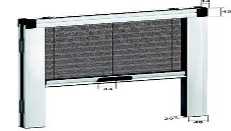 Σίτα κάθετης κίνησης Gioconda με φρένο