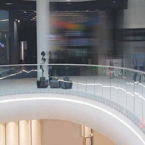 Σύστημα στήριξης υαλοπίνακα Aluminco D Line
