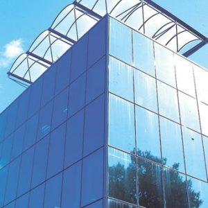 Υαλοπέτασμα επένδυσης κτιρίου Alumil M3