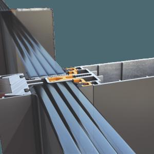 Υαλοπέτασμα επένδυσης κτιρίου Alumil M50 Standard
