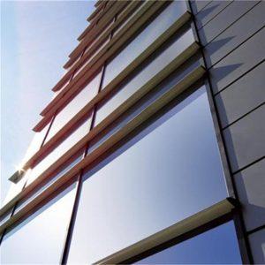 Υαλοπέτασμα επένδυσης κτιρίου Alumil M6