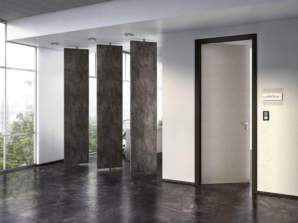 Εσωτερική πόρτα Interno Exlusive 300 με επένδυση γυαλιού , καπλάμα ή δέρματος