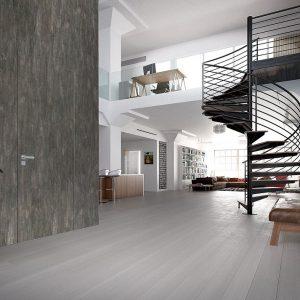 Ξύλινη πρεσσαριστή εσωτερική πόρτα Interno Suite 150
