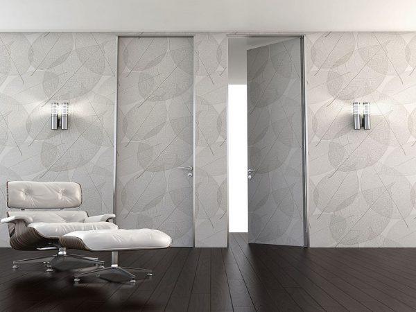 Ξύλινη πρεσσαριστή εσωτερική πόρτα Interno Suite 200