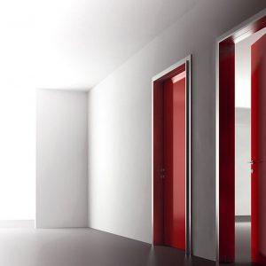 Ξύλινη πρεσσαριστή εσωτερική πόρτα Interno Suite 300